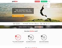 OneFlare - Website Redesign