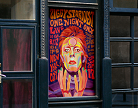 Ziggy Stardust Concert {Illustration/Advertising}