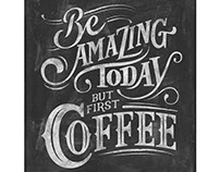 Chalkboard Quotes for Coffee Lovers II