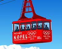 Innsbruck Ski Poster