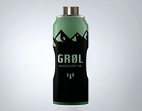 Bottle design: Grøl