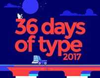 36 days of type - 2017
