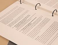 Raport samooceny — document design