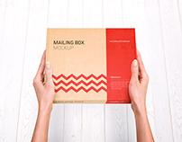 Mailing Box Mock-up 2