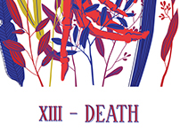 XIII- DEATH ( Tarot card )