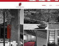 Casa Rossa Lodge Pisa Website 2014