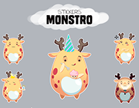 Monstro stickers