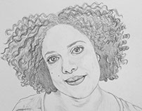 Pencil Portrait: Jessica