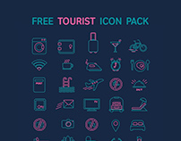 FREE TOURIST ICON PACK