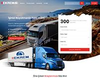 Ekrem Tır Trucks Car Dealer Web Design