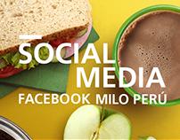 MILO - Social media content