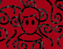 Логотип и личная айдентика для блога