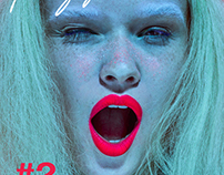 Freyja beauty magazine cover story
