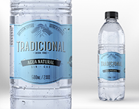 Rediseño Agua Tradicional