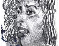 Pen, Graphite, Charcoal 2016