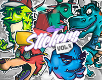 STICKERS COLLECTION VOL.3 (ILLUSTRATED)