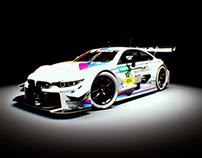 BMW M4 TDM - 3D Render