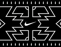200m Wall Mural - Nike Football Training Center (JHB)
