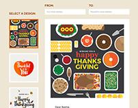 Thanksgiving Landing Page