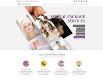 Salon WordPress Theme - Beauty Website Builder Slider