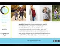 Flip Consignment Website Re-design