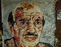 Vaikkom Muhammed Basheer Paper Collage