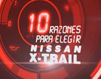 10 razones para elegir X-trail - Nissan