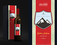 Wine Bottle Label Design