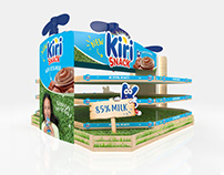 Kiri Snack Product Stand