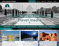 Peacock Travel Media - UI Design