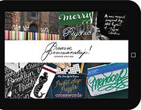 Preserve Penmanship! Print + Screen