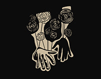 Buruk Illustration - Linocut