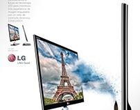 LG Electronics + Print Design