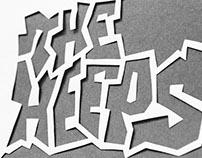 The Heeps + Leftover Lights - Poster