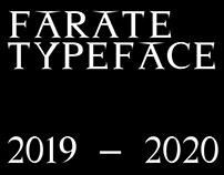 FARATE TYPEFACE