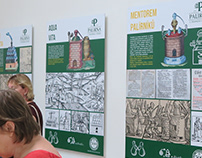Výstava, design panelů
