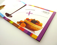 Photosession and design brochure for chocolate factory