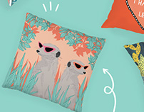 Illustrations - Cushion Designs for OHH Deer