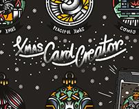 X-Mas Card Creator / 2016