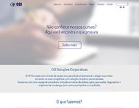 criação layout site
