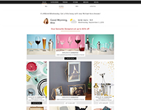 Elitify.com Website Layout - 2016
