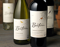 Bonterra Wine Label & Packaging Design