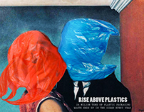 plastic waste poster