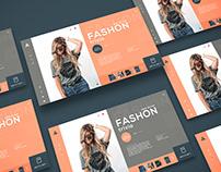 Web Page in Adobe XD