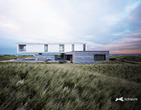 Dune House on the danish North Sea coast
