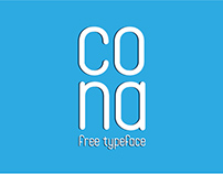 Cona | Free typeface