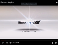 iSecure - Avigilon Title Animation and editing