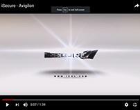 iSecure - Avigilon Title Animation and editing