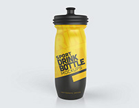 Sports Drink Bottle Mockups