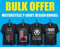 New Motorcycle T-Shirt Design Bundle